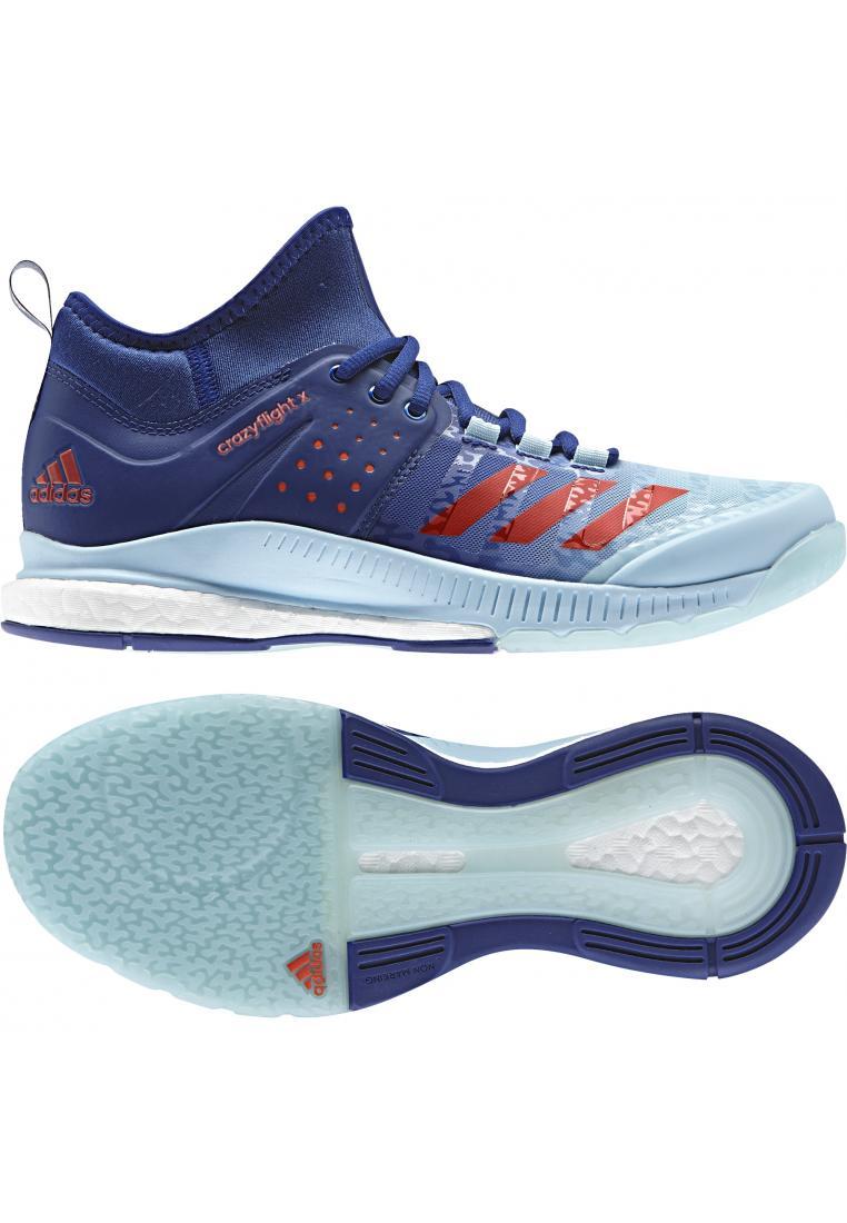 ADIDAS CRAZYFLIGHT X MID W női röplabda cipő
