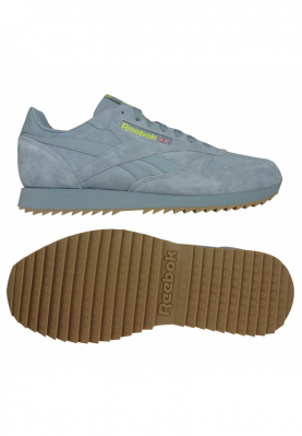 REEBOK CL LEATHER MU TEAL férfi sportcipő